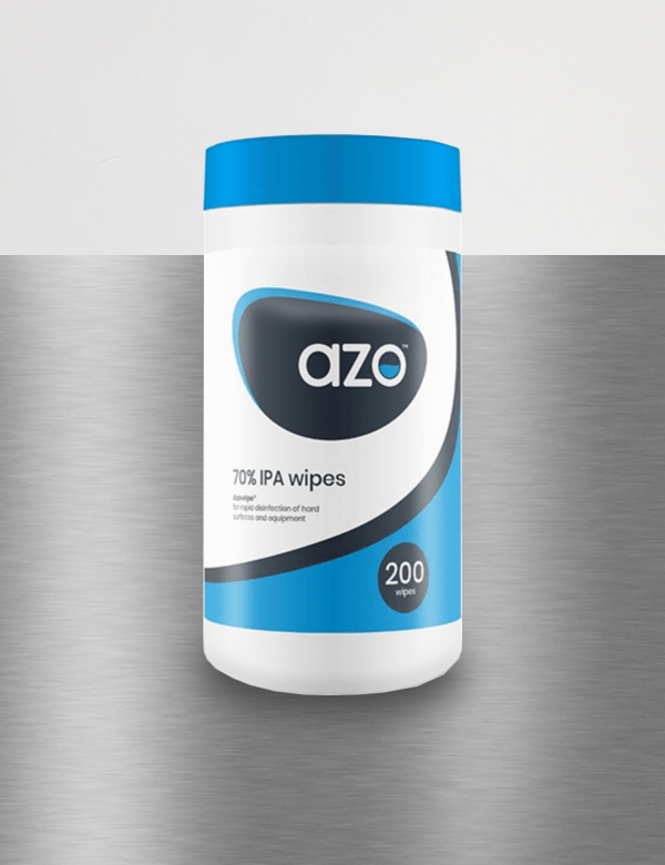 azo surface disinfectant wipes